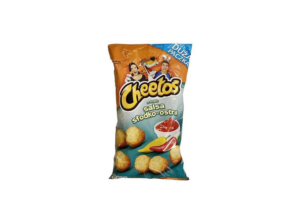 Cheetos Salsa Sladko Pálivá XL 160g POL