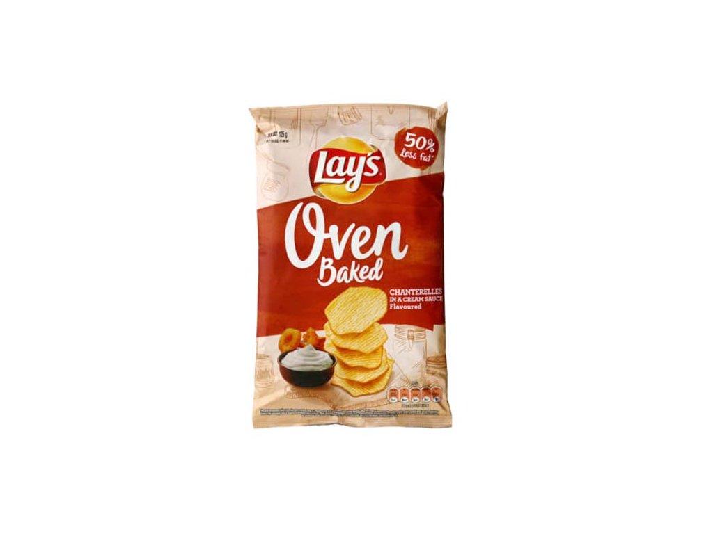 Lay's Oven Baked Chanterelles in Cream Sauce 125g POL