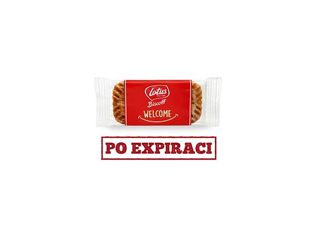 Lotus Biscoff Karamelizované Sušenky WELCOME 1ks 6,25g BEL