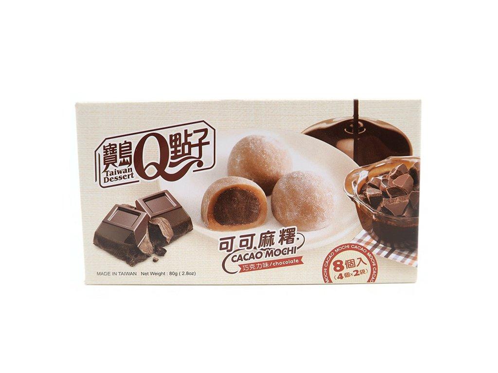 Mochi Rýžové Koláčky Kakao Čokoláda 80g TWN