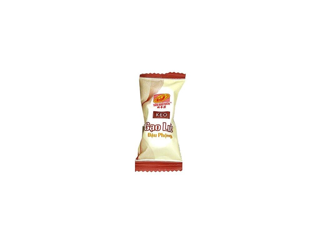 Keo Gao Luc Dau Phong Brown Rice Peanut Candy 1ks 6,6g VNM