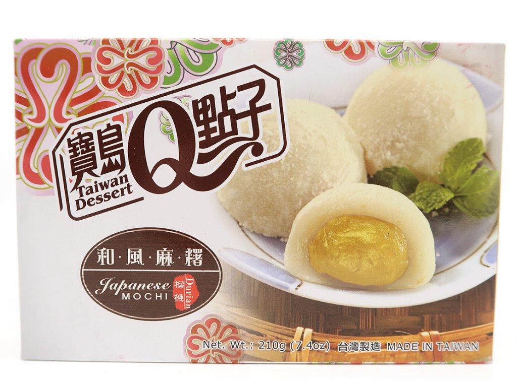 Mochi rýžové koláčky durian - PEPIS.SHOP