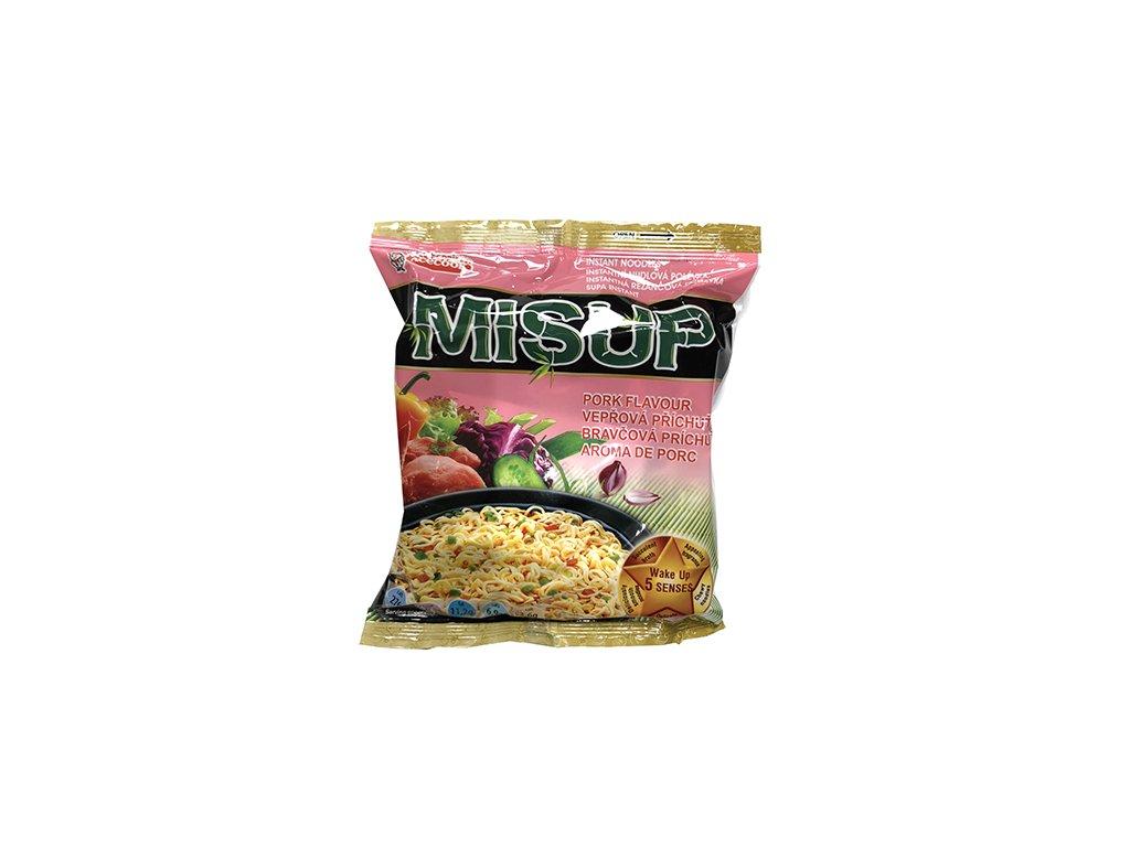 Misup Instantní Nudlová Polévka Vepřová 61g VNM