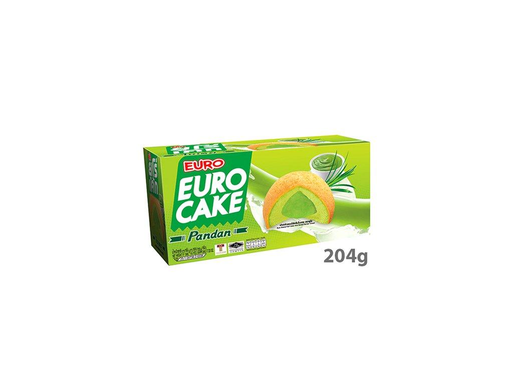 Euro Cake S Příchutí Pandanu Balení 204g (12x17g) THA