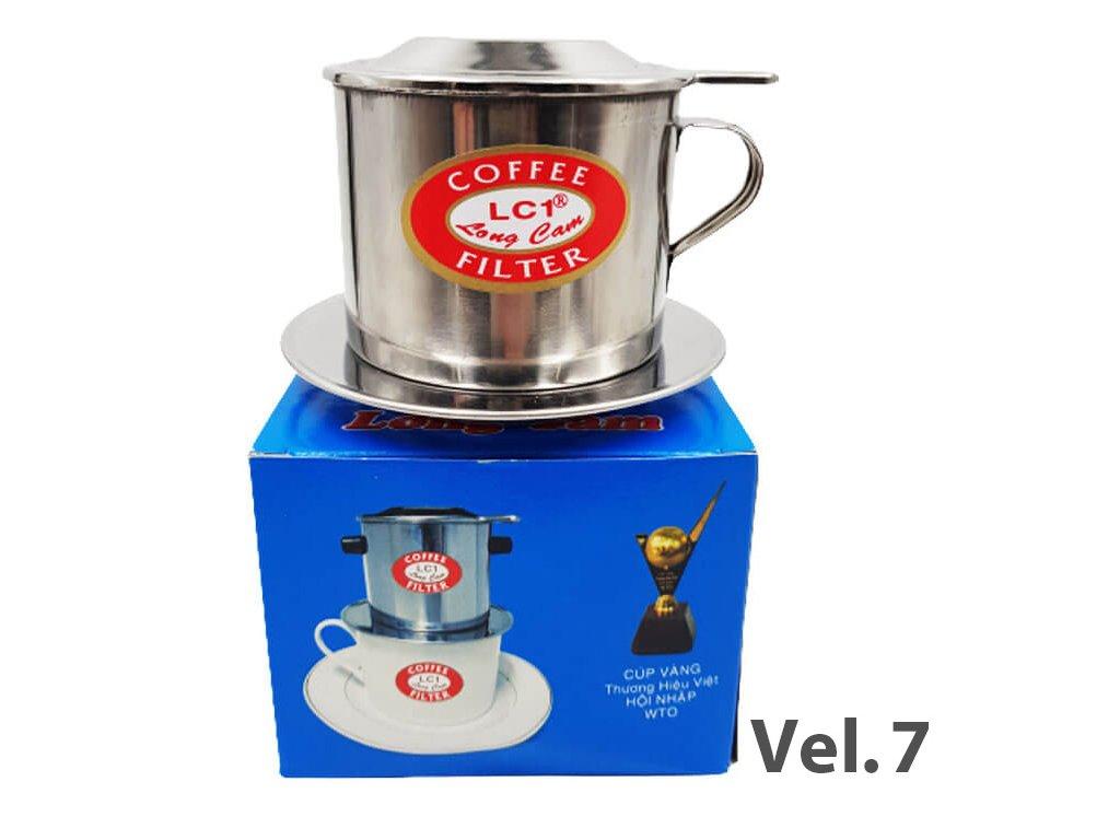 Long Cam Kávový Filtr Velikost č.7