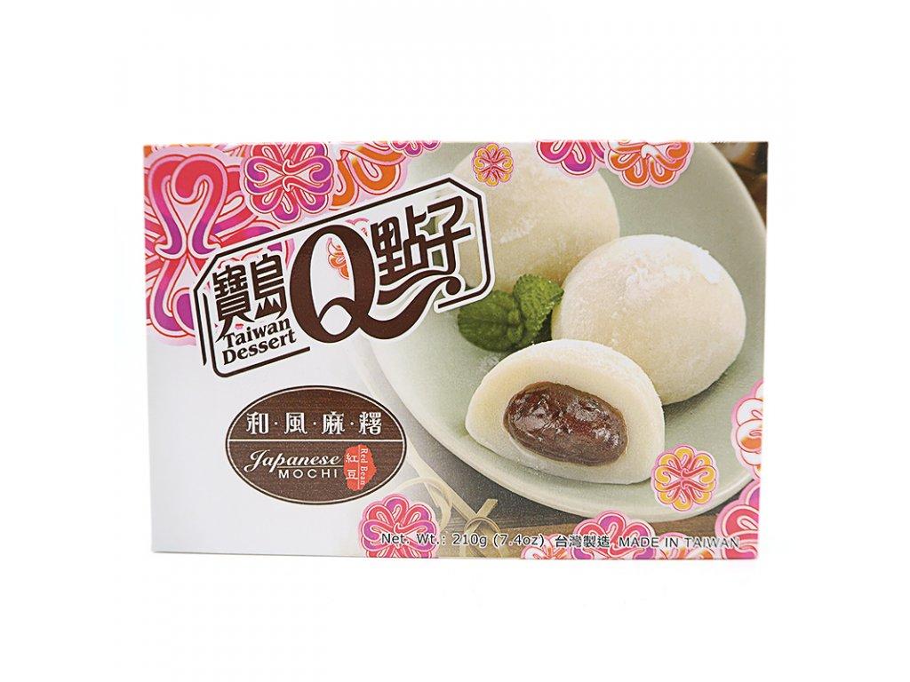 Mochi rýžové koláčky He Fong červená fazole - PEPIS.SHOP