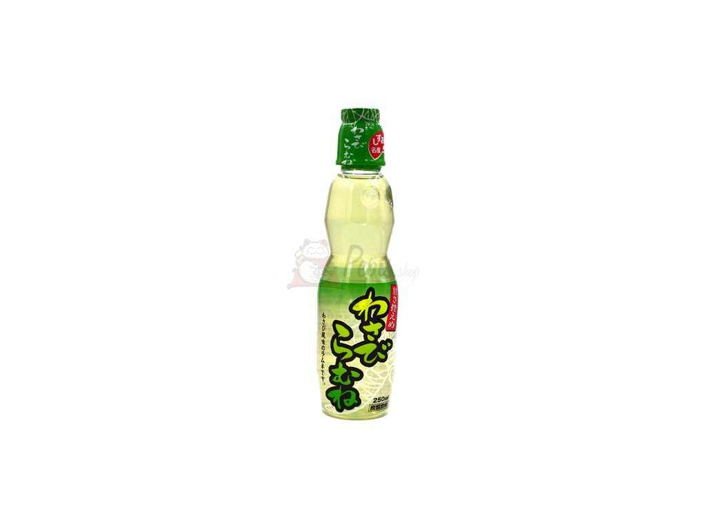 16 10 2021 Ramune Drink Wasabi 250ml JAP
