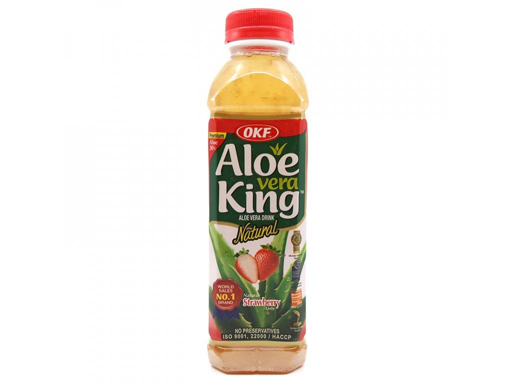 Nápoj Aloe Vera jahoda, 500ml - PEPIS.SHOP