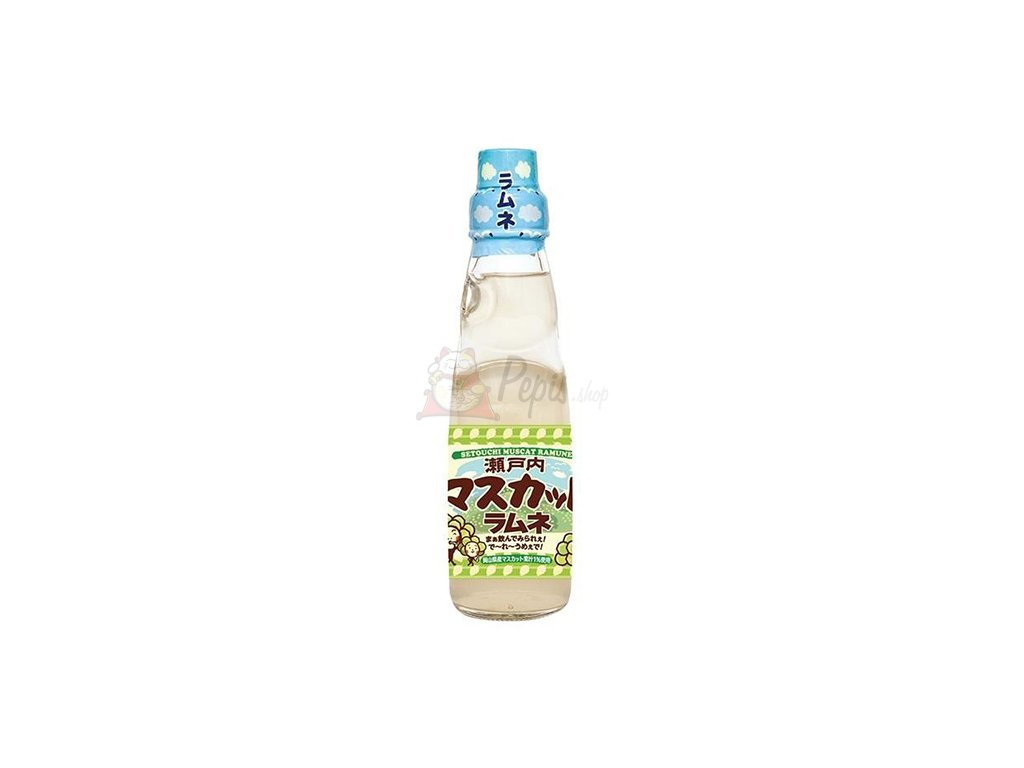 07 06 2022 Setouchi Muscat Ramune Drink 200ml JAP