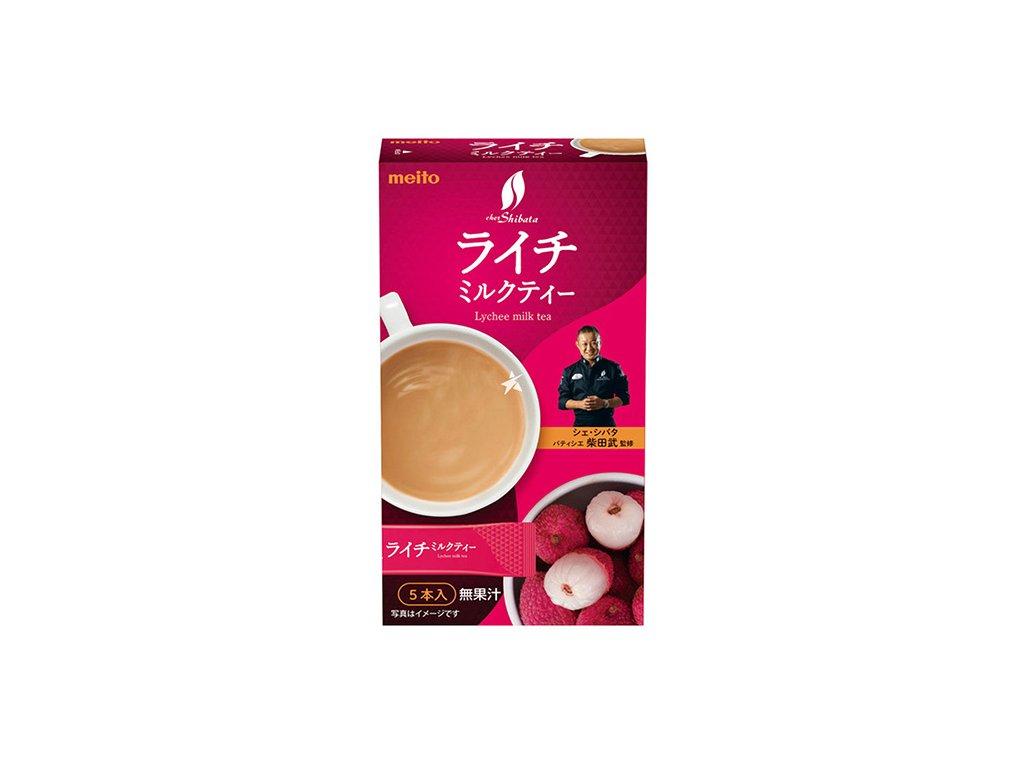 Meito Lychee Milk Tea Premix Balení (5x12g) JAP