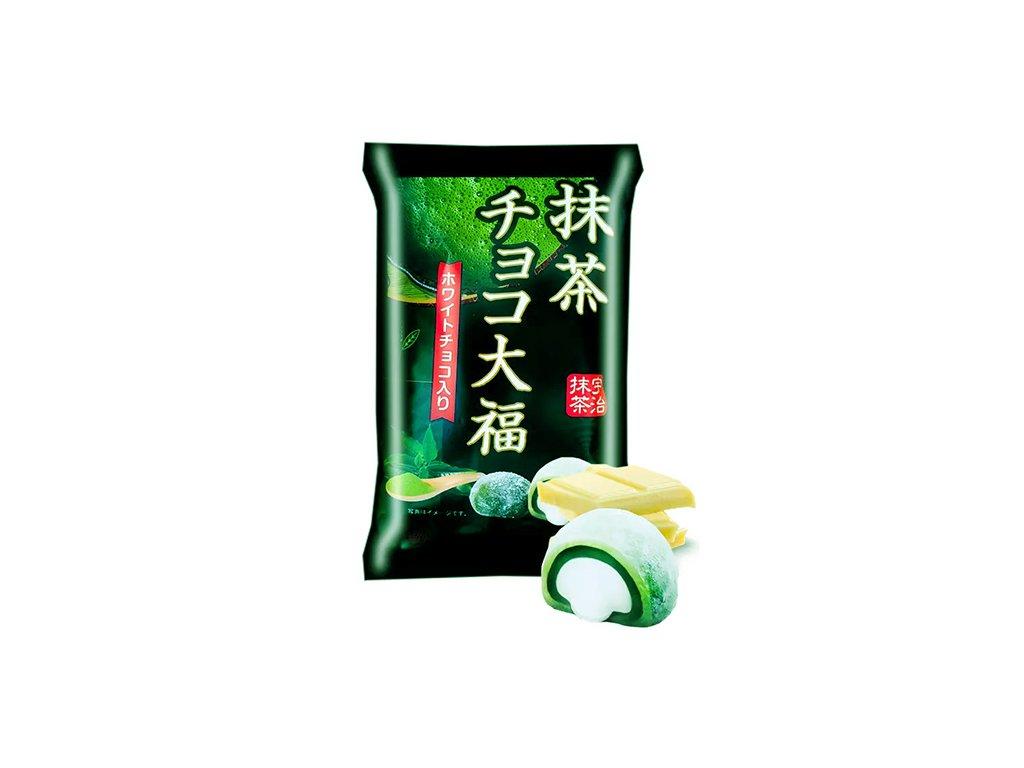 Matcha White Chocolate Daifuku Mochi 160g JAP