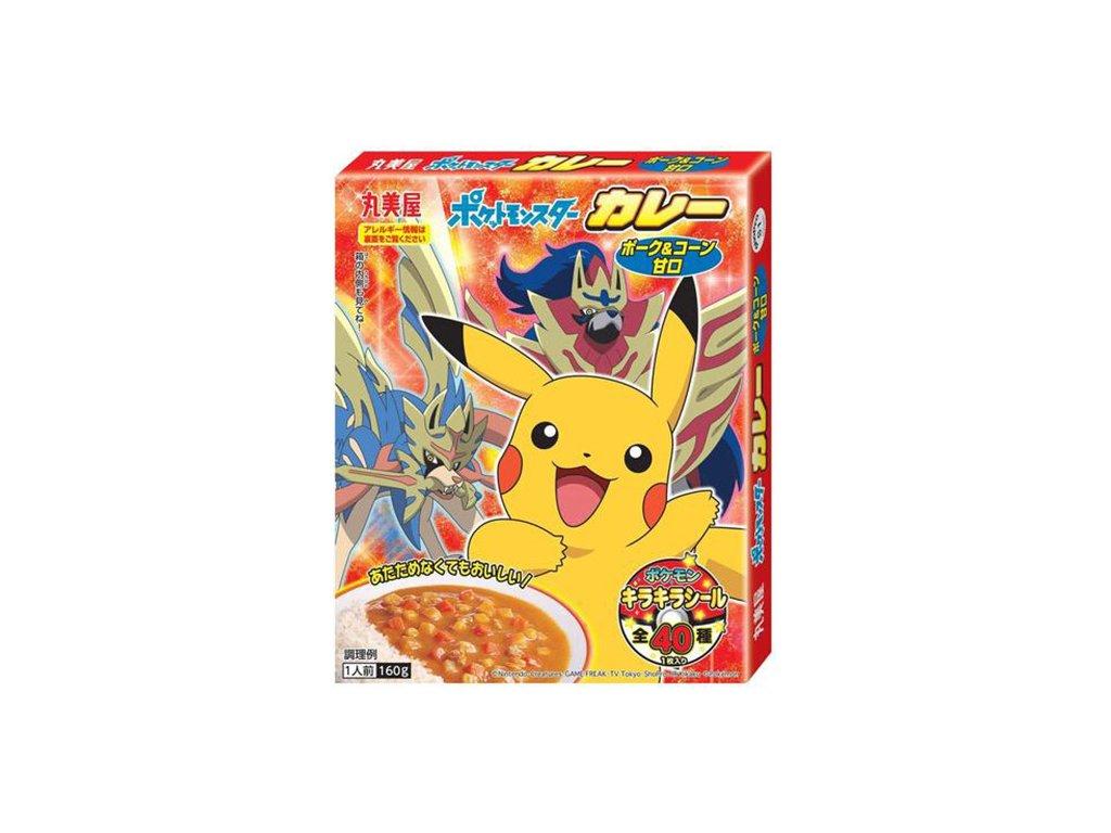 Pokémon Instant Curry Pork & Corn 160g JAP