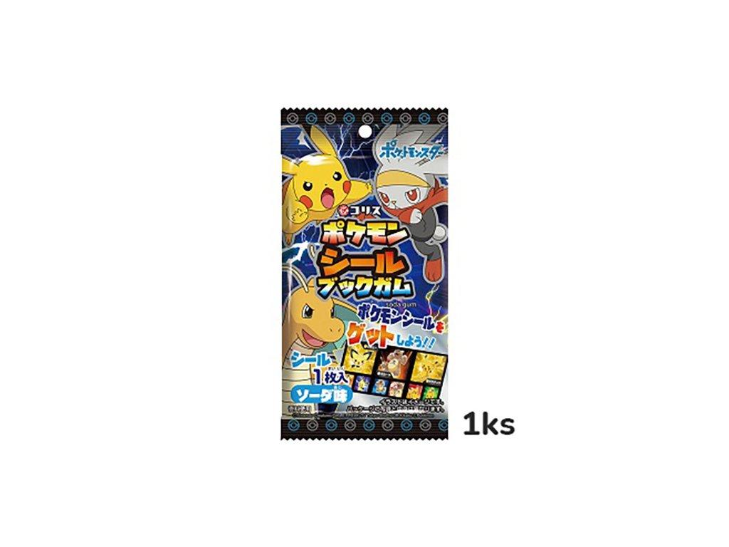 Pokémon Záložka Do Knihy A Žvýkačka 1ks JAP
