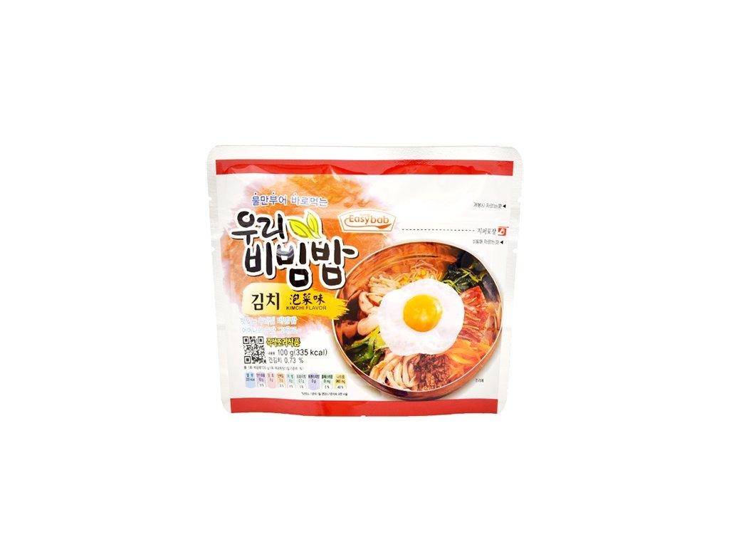 Easybab Woori Bibimbap Kimchi Flavour 100g KOR