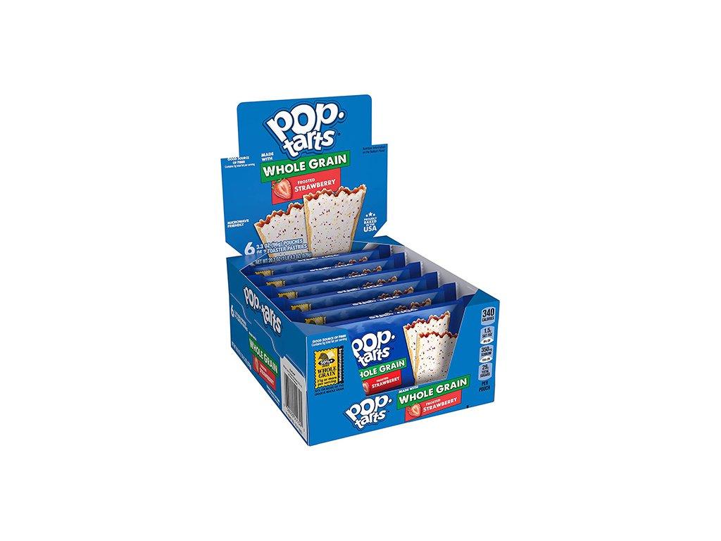 Pop Tarts Frosted Strawberry Maxi Balení (6x96g) 576g USA