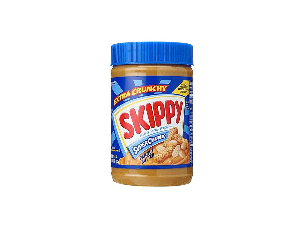 Skippy Extra Crunchy Super Chunk Peanut Butter 462g USA