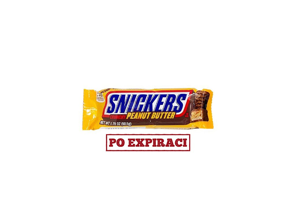 Snickers Crunchy Peanut Butter 50,5g USA