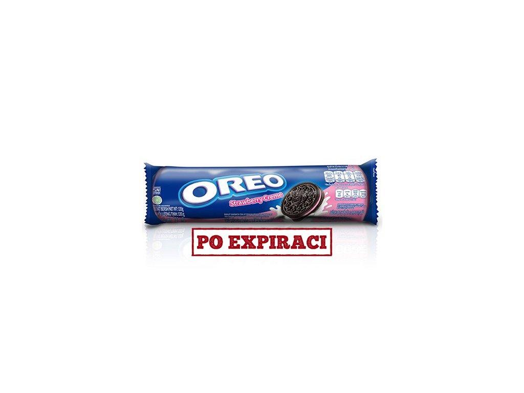 Oreo Strawberry Creme 133g IDN