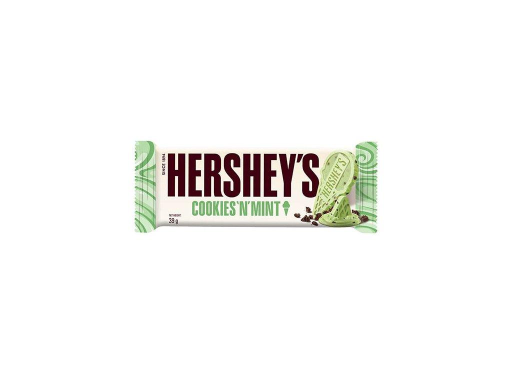 Hershey s Cookies n Mint Chocolate 39g USA