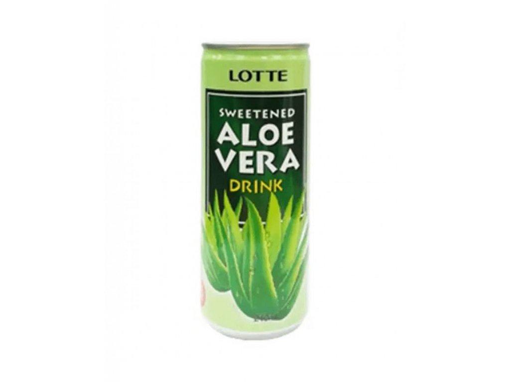সুইটেনড এলোভেরা দ্রিঙ্ক ২৪০ মিলি Lotte Sweetened Aloe Vera Drink result 910x1155