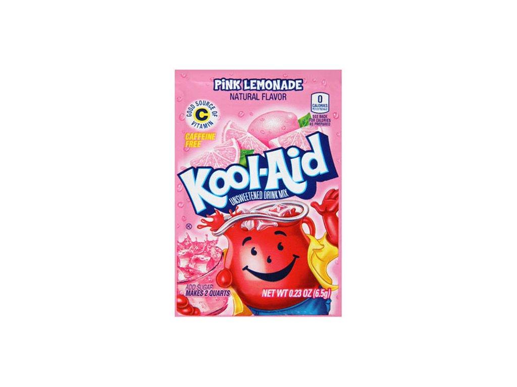 Kool Aid Instatní Ovocný Nápoj Pink Lemonade 1ks 3,6g USA