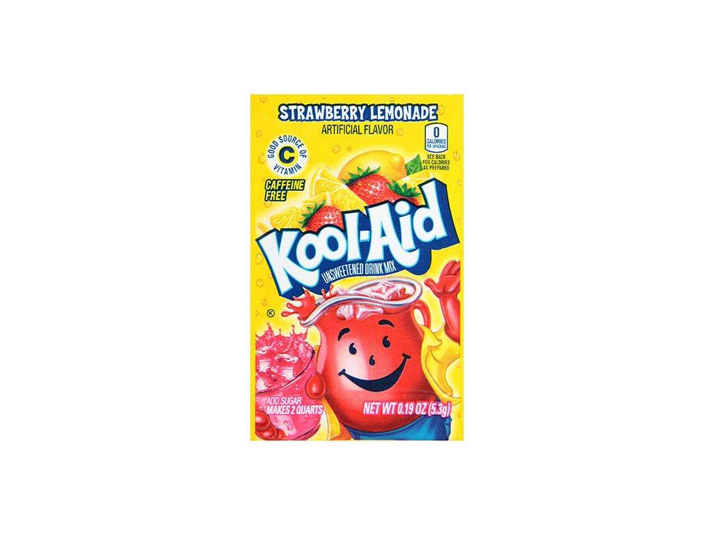 Kool Aid Instatní Ovocný Nápoj Strawberry Lemonade 1ks 3,6g USA