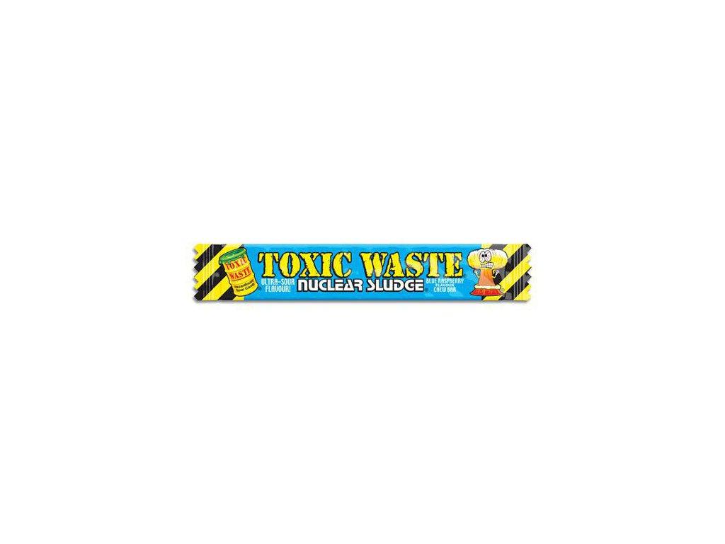 Toxic Waste Nuclear Sludge Chew Bar Sour Blue Raspberry 20g UK