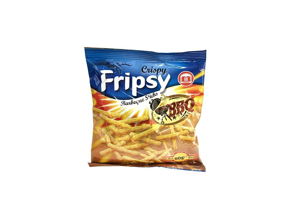 Maks Crispy Fripsy BBQ Sticks 50g MKD