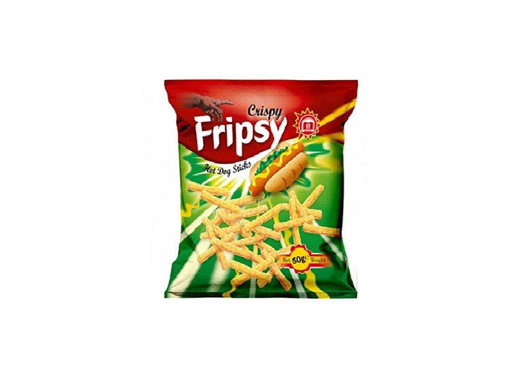 Maks Crispy Fripsy Hot Dogs Sticks 50g MKD
