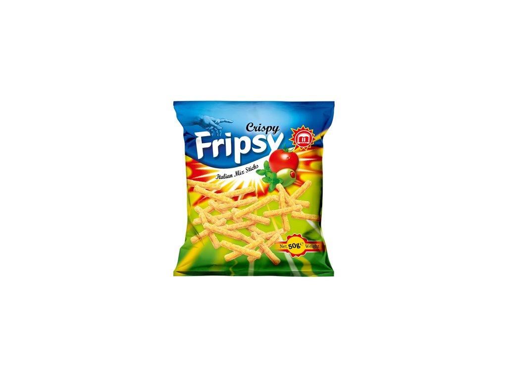Maks Crispy Fripsy Italian Mix Sticks 50g MKD
