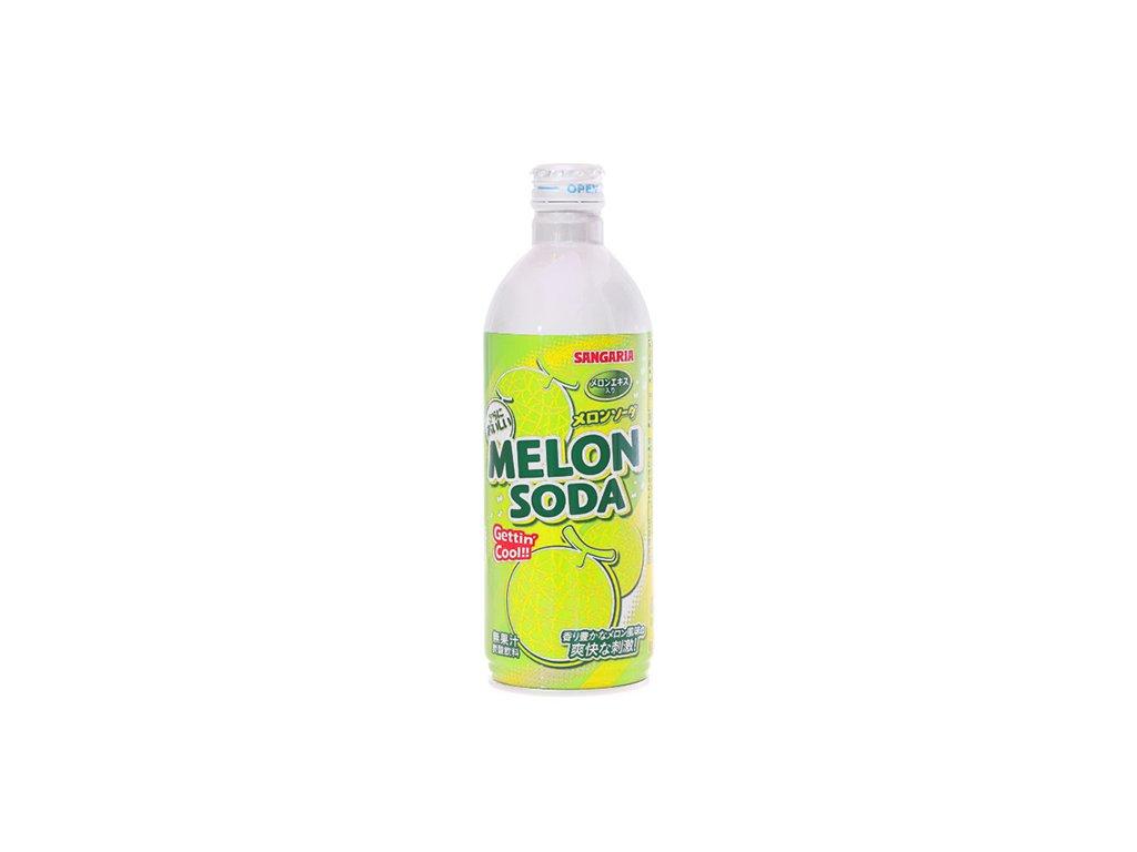 Sangaria Melounová Soda Plechová Lahev 500ml JAP