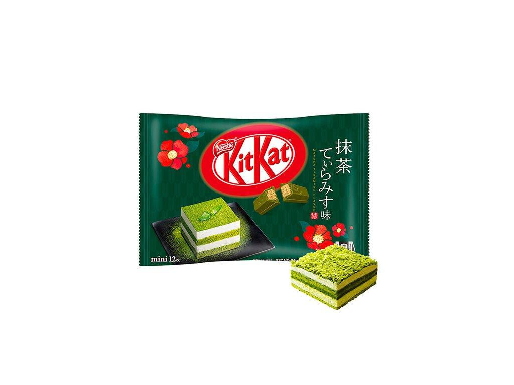 KitKat Mini Matcha Tiramisu Balení 118,8g JAP