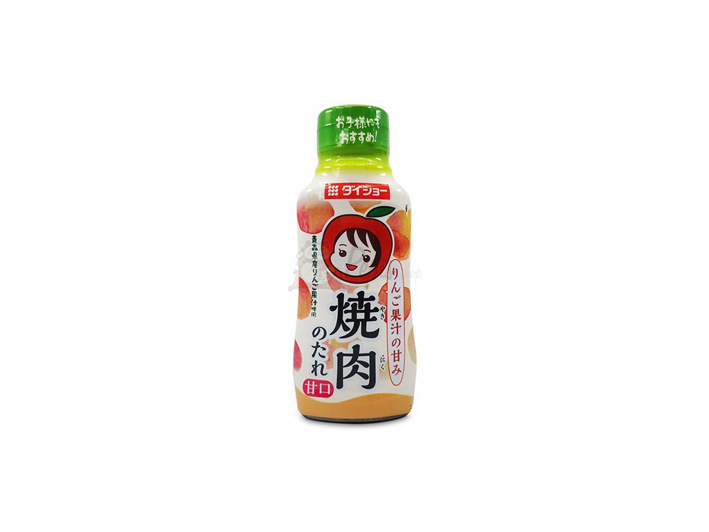 BBQ Sauce Apple Juice Blended Jablečná Omáčka 230g JAP