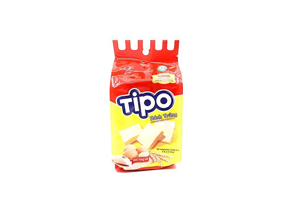 Tipo krémové vaječné sušenky balení - PEPIS.SHOP