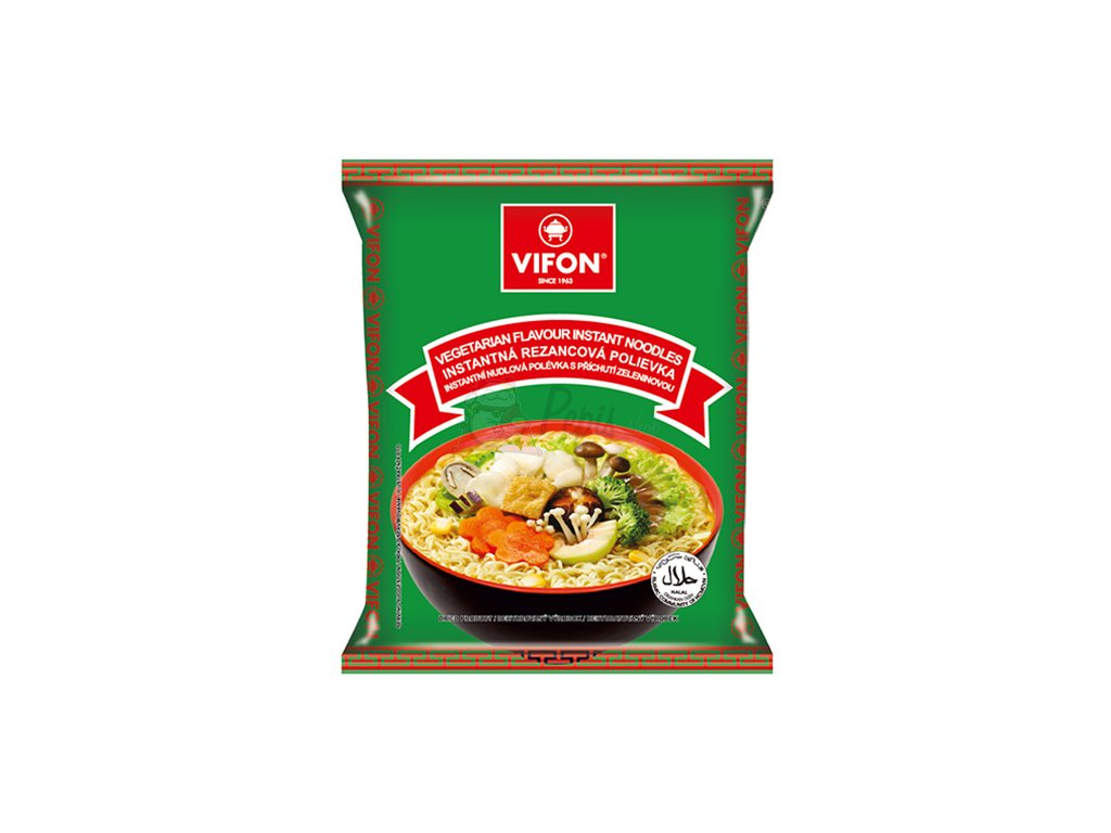 Vifon Vegetarian Flavour Vegetariánské Instantní Nudle 60g VNM