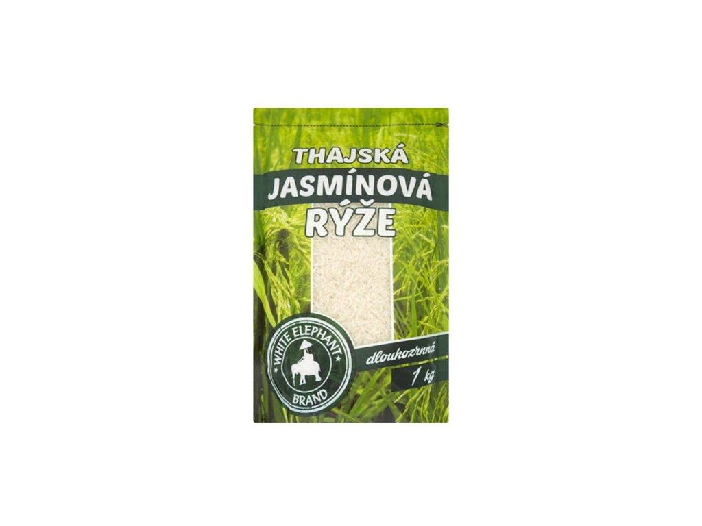 Thajská Jasmínová Rýže Dlouhozrnná 1kg THA