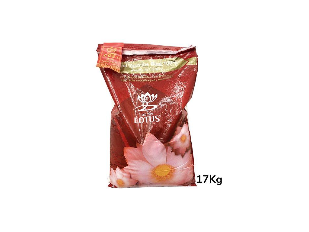 Red Thai Lotus Jasmínová Rýže 17kg THA