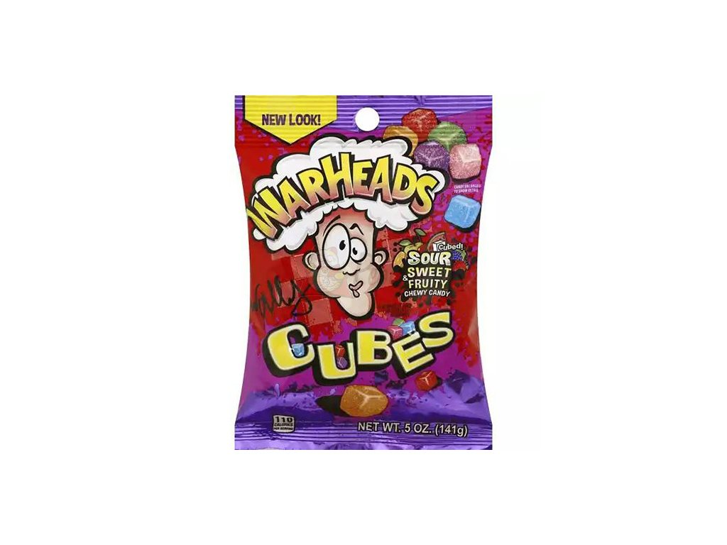 Warheads Chewy Cubes 141g USA