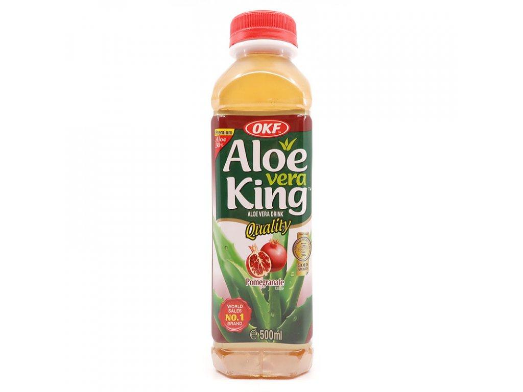Nápoj Aloe Vera granátové jablko, 500ml - PEPIS.SHOP