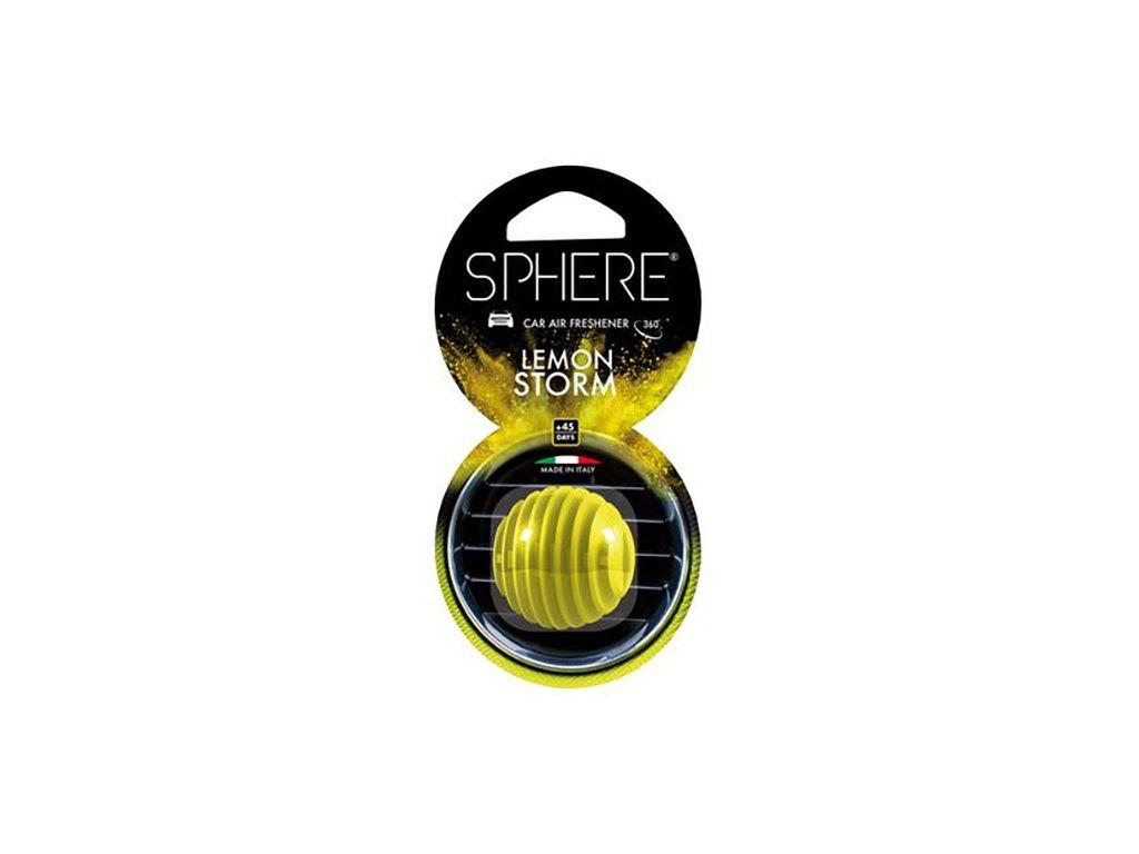 Little Joe Vůně Do Auta Sphere Lemon Storm 25g ITA
