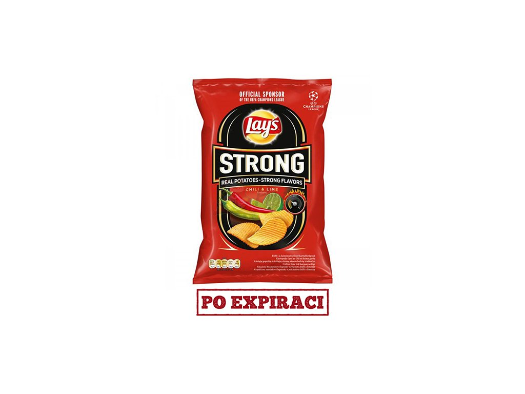 Lay's Strong Chilli & Lime 65g POL
