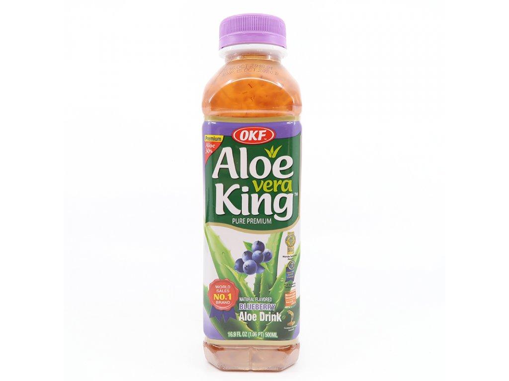Nápoj Aloe Vera borůvka, 500ml - PEPIS.SHOP