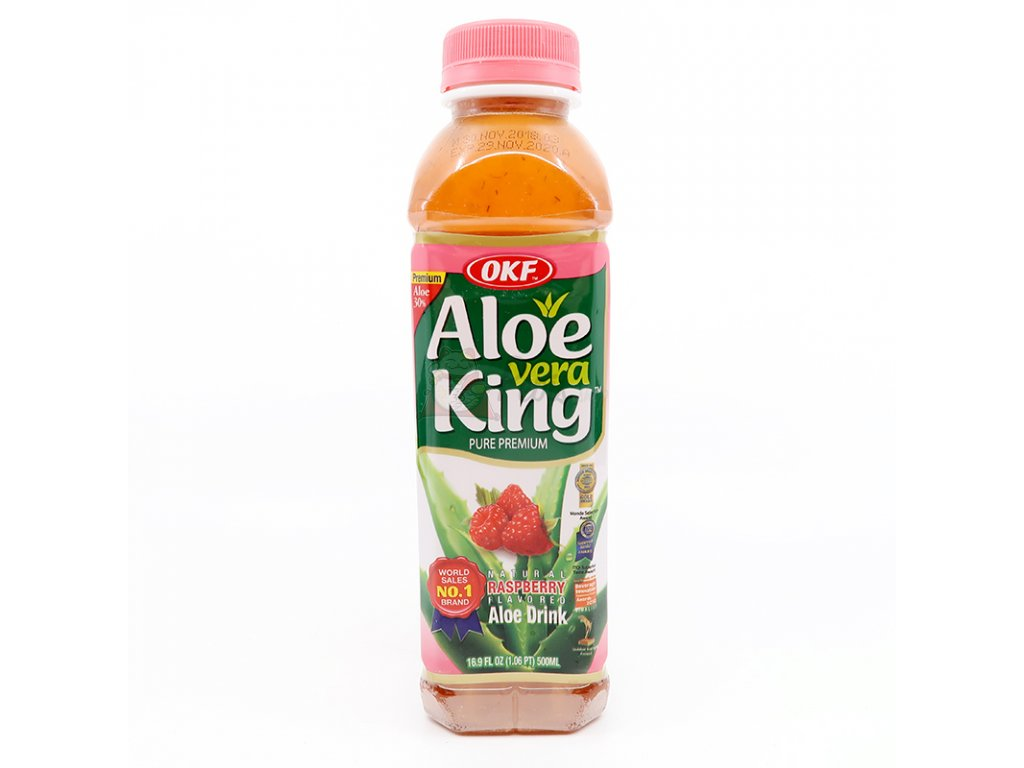 Nápoj Aloe Vera malina, 500ml - PEPIS.SHOP