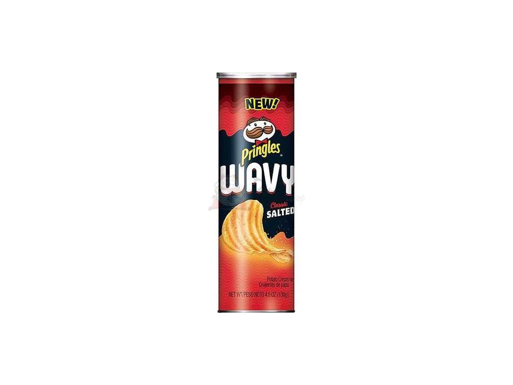 Pringles Wavy Classic Salted 130g EU