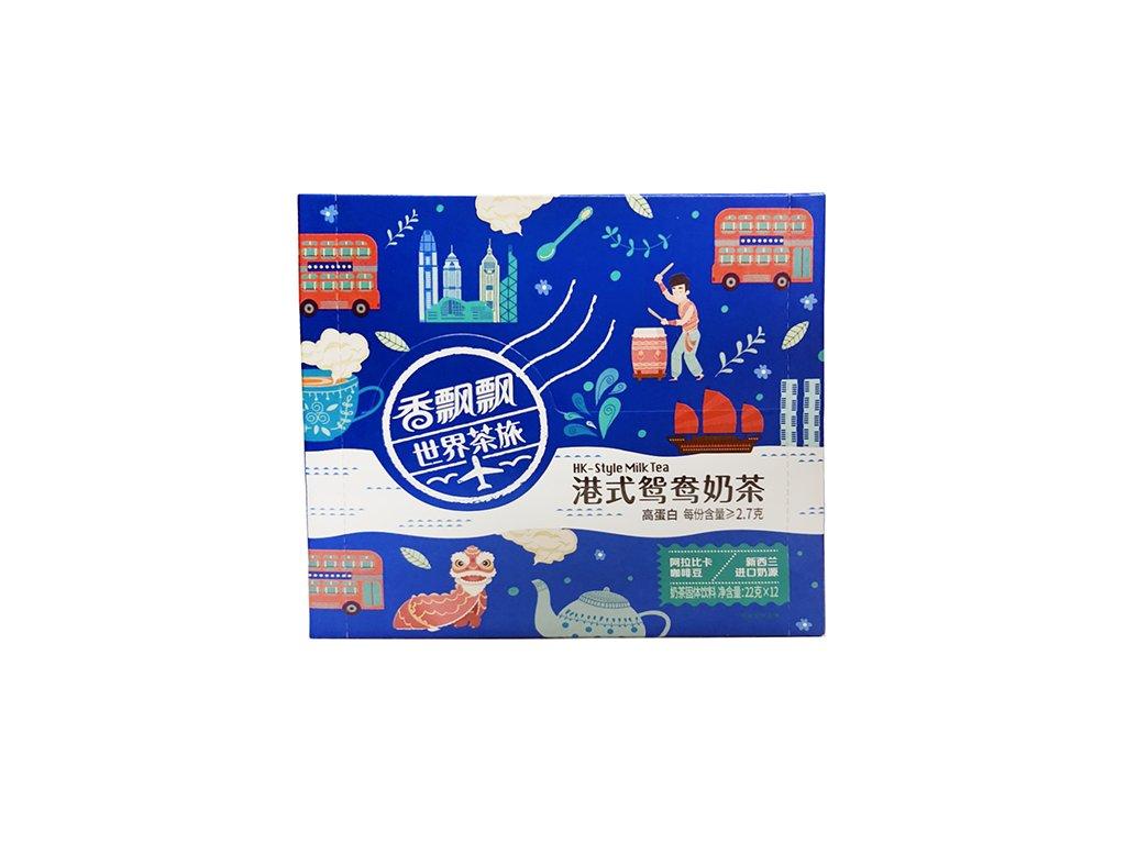 Hongkong Style Instantní Mléčný Čaj Balení 264g (12x22g) CHN