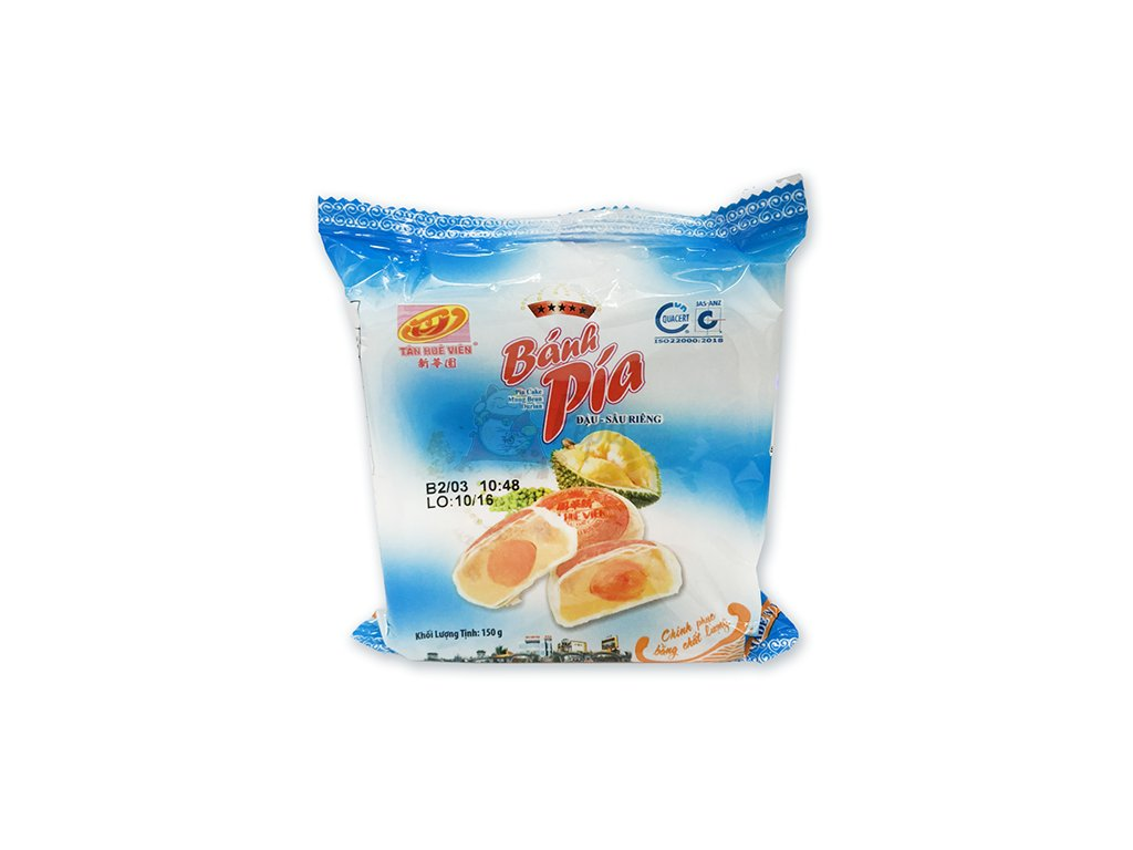 Bánh Pia Koláček Mung Bean Durian s Vajíčkem 1ks 150g VNM