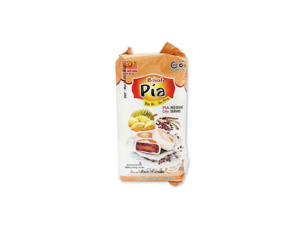 Bánh Pia Koláčky Red Beans Durian Balení 400g (4x100g) VNM