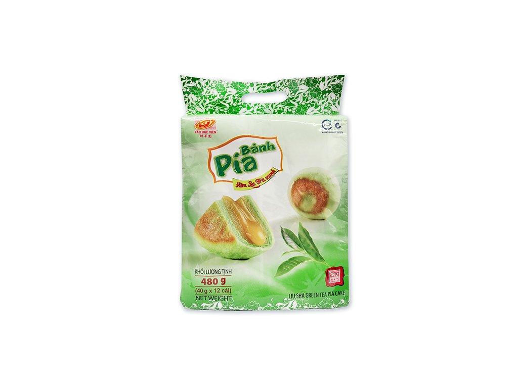 Bánh Pia Koláčky Liu Sha Green Tea Balení 480g (12x40g) VNM