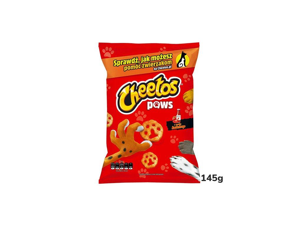 Cheetos Paws Ketchup 145g POL