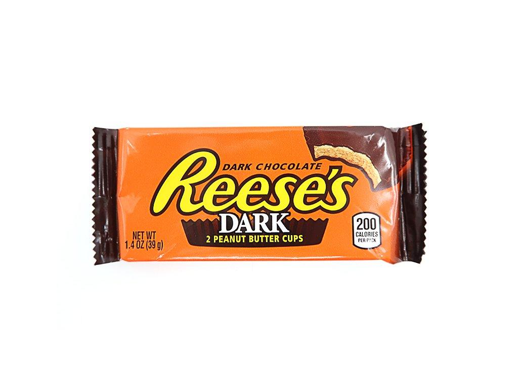 Reese's 2 tmavé čokoládové košíčky plněné burákovým máslem - PEPIS.SHOP